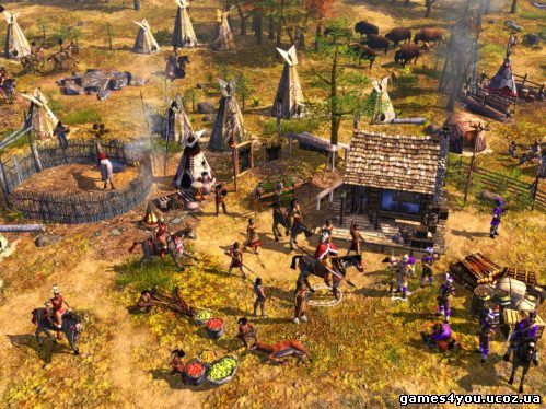 Age of Empires III: The WarChiefs русская версия